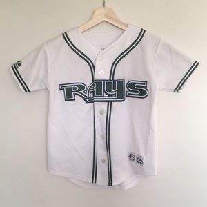 Majestic Genuine Merchandise Tampa Bay Rays Jersey